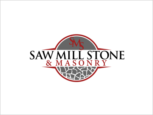 Saw Mill Stone & Masonry Supply A Logo, Monogram, or Icon  Draft # 227 by thebullet