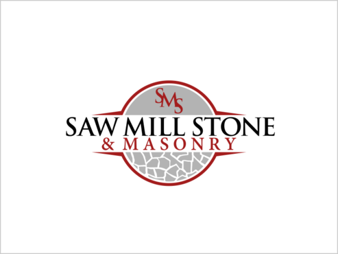 Saw Mill Stone & Masonry Supply A Logo, Monogram, or Icon  Draft # 228 by thebullet