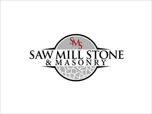 Saw Mill Stone & Masonry Supply A Logo, Monogram, or Icon  Draft # 229 by thebullet