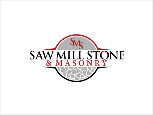 Saw Mill Stone & Masonry Supply A Logo, Monogram, or Icon  Draft # 230 by thebullet