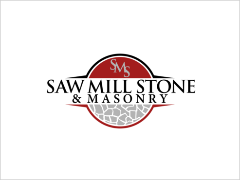 Saw Mill Stone & Masonry Supply A Logo, Monogram, or Icon  Draft # 231 by thebullet