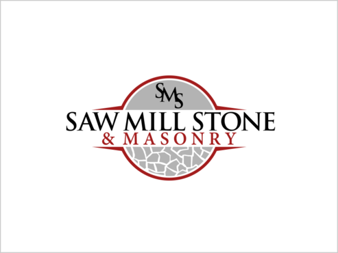 Saw Mill Stone & Masonry Supply A Logo, Monogram, or Icon  Draft # 232 by thebullet