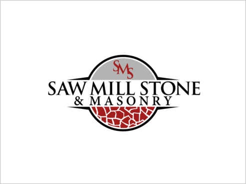 Saw Mill Stone & Masonry Supply A Logo, Monogram, or Icon  Draft # 233 by thebullet