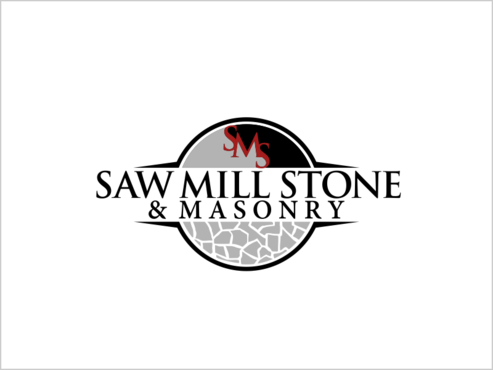 Saw Mill Stone & Masonry Supply A Logo, Monogram, or Icon  Draft # 239 by thebullet