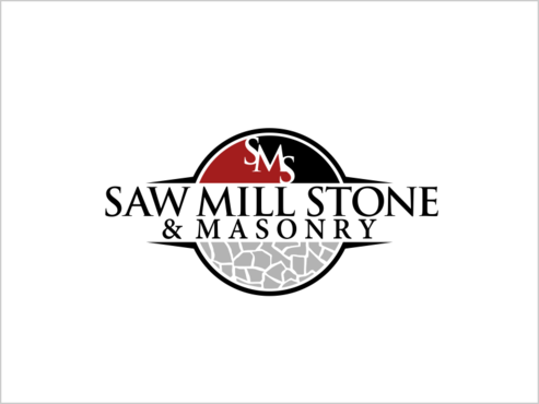 Saw Mill Stone & Masonry Supply A Logo, Monogram, or Icon  Draft # 240 by thebullet