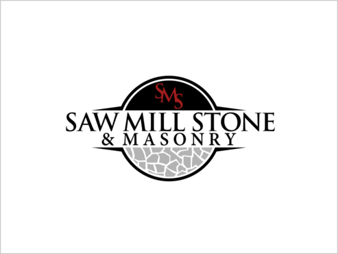 Saw Mill Stone & Masonry Supply A Logo, Monogram, or Icon  Draft # 241 by thebullet