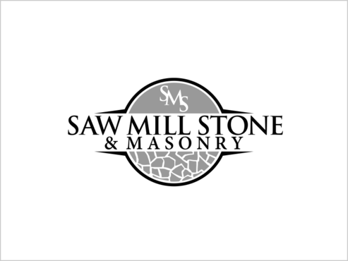 Saw Mill Stone & Masonry Supply A Logo, Monogram, or Icon  Draft # 247 by thebullet