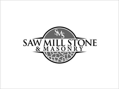 Saw Mill Stone & Masonry Supply A Logo, Monogram, or Icon  Draft # 248 by thebullet