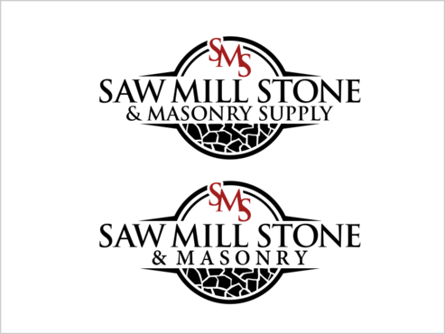 Saw Mill Stone & Masonry Supply A Logo, Monogram, or Icon  Draft # 249 by thebullet