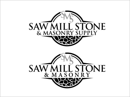 Saw Mill Stone & Masonry Supply A Logo, Monogram, or Icon  Draft # 250 by thebullet