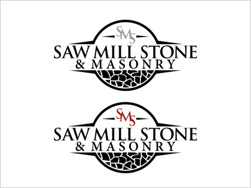 Saw Mill Stone & Masonry Supply A Logo, Monogram, or Icon  Draft # 251 by thebullet