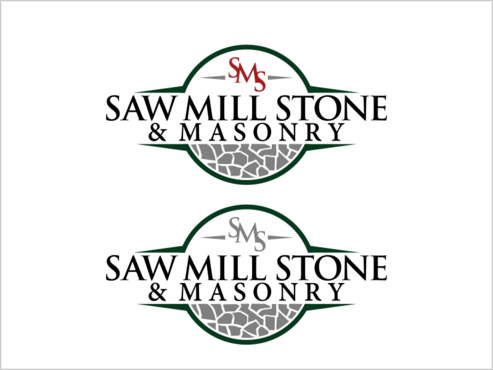Saw Mill Stone & Masonry Supply A Logo, Monogram, or Icon  Draft # 252 by thebullet