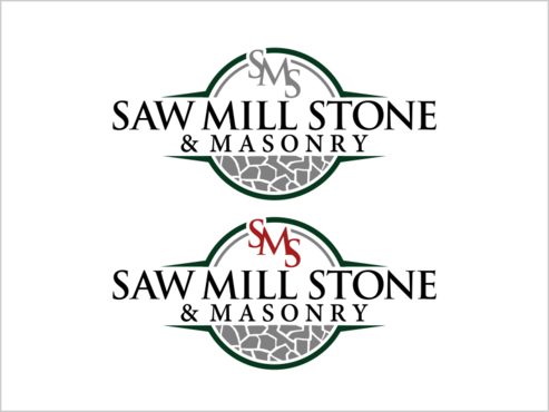 Saw Mill Stone & Masonry Supply A Logo, Monogram, or Icon  Draft # 253 by thebullet