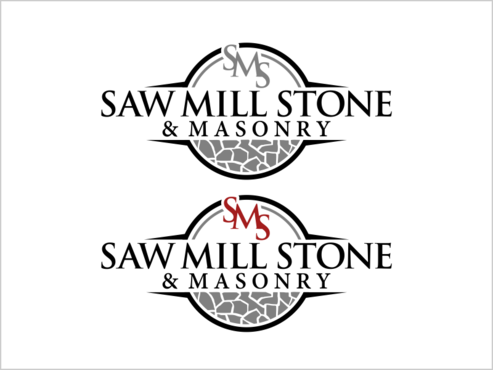 Saw Mill Stone & Masonry Supply A Logo, Monogram, or Icon  Draft # 260 by thebullet