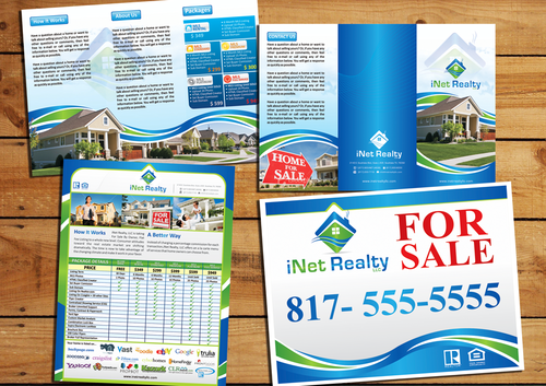Editable Tri-Fold Brochure, 1 page Flyer, Sign  Marketing collateral Winning Design by EleVen711