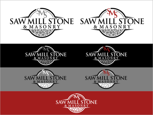Saw Mill Stone & Masonry Supply A Logo, Monogram, or Icon  Draft # 262 by thebullet