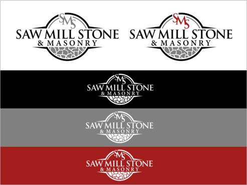 Saw Mill Stone & Masonry Supply A Logo, Monogram, or Icon  Draft # 263 by thebullet
