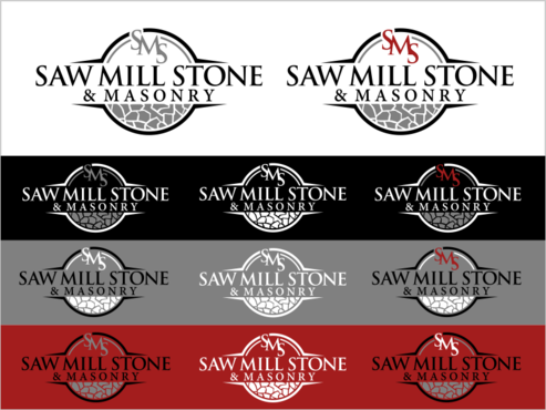Saw Mill Stone & Masonry Supply A Logo, Monogram, or Icon  Draft # 264 by thebullet