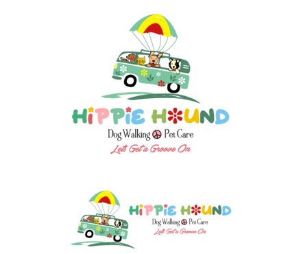 Hippie Hound A Logo, Monogram, or Icon  Draft # 78 by simpleway