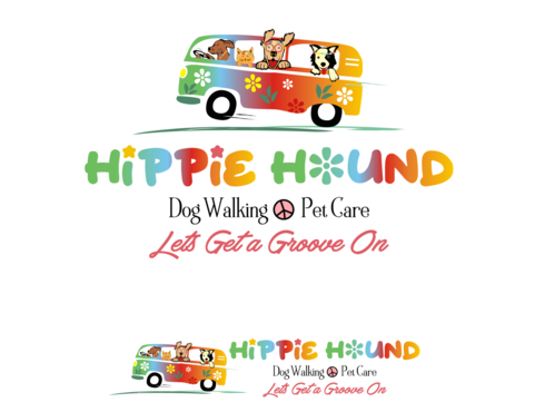 Hippie Hound A Logo, Monogram, or Icon  Draft # 93 by simpleway