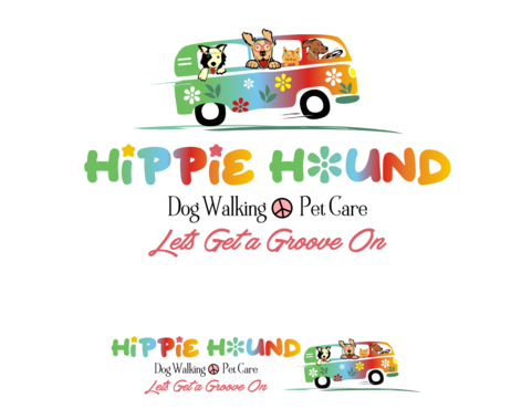Hippie Hound A Logo, Monogram, or Icon  Draft # 94 by simpleway