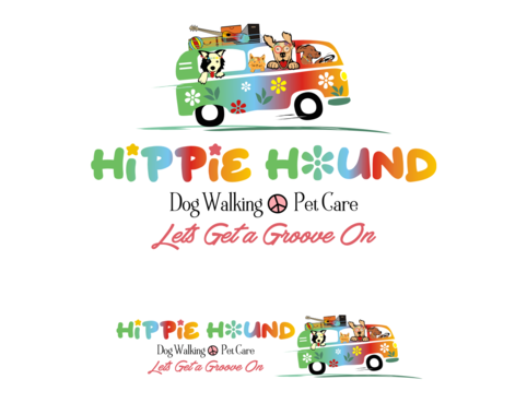 Hippie Hound A Logo, Monogram, or Icon  Draft # 106 by simpleway