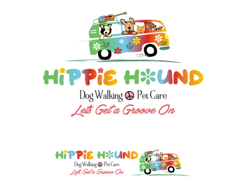Hippie Hound A Logo, Monogram, or Icon  Draft # 110 by simpleway