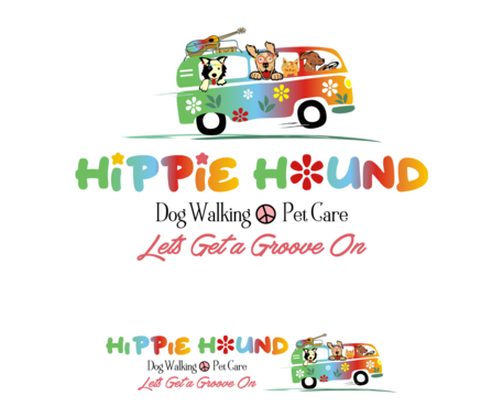 Hippie Hound A Logo, Monogram, or Icon  Draft # 112 by simpleway