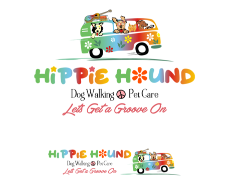 Hippie Hound A Logo, Monogram, or Icon  Draft # 114 by simpleway