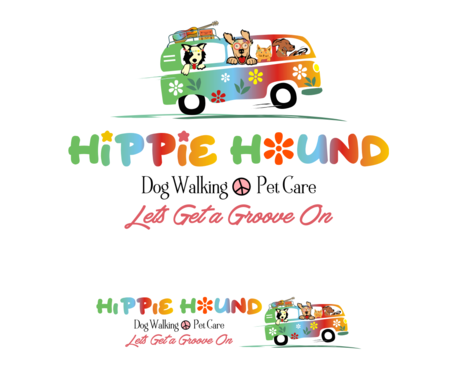 Hippie Hound A Logo, Monogram, or Icon  Draft # 115 by simpleway