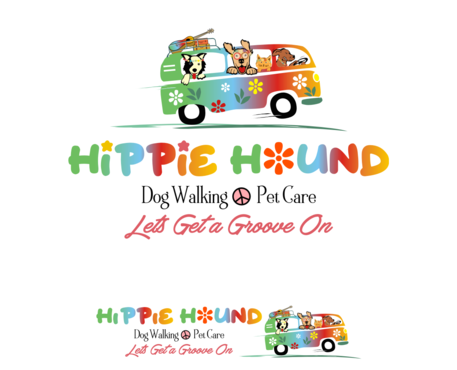 Hippie Hound A Logo, Monogram, or Icon  Draft # 116 by simpleway