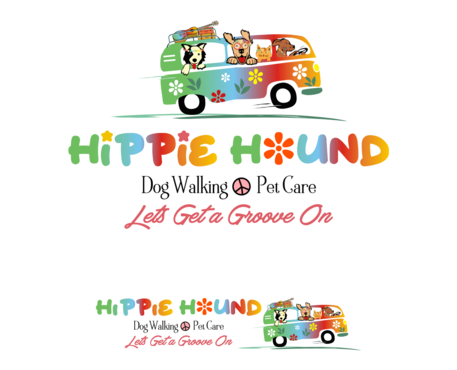 Hippie Hound A Logo, Monogram, or Icon  Draft # 134 by simpleway