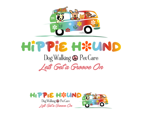 Hippie Hound A Logo, Monogram, or Icon  Draft # 135 by simpleway