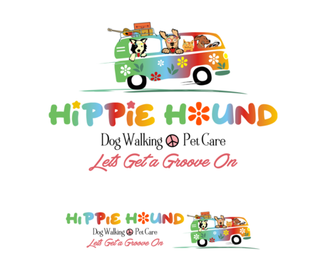 Hippie Hound A Logo, Monogram, or Icon  Draft # 137 by simpleway