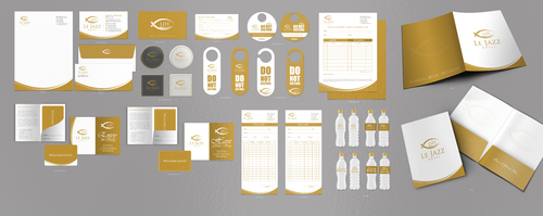 Design by einsanimation For Hotel stationary