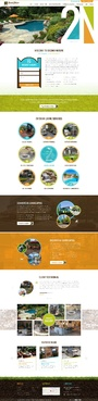 Second Nature Outdoor Living Website Design