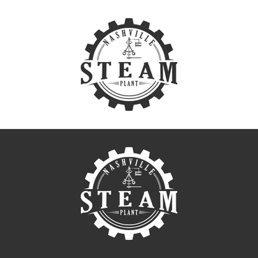 Design by naison For Logo for makerspace featuring a  steam engine governor