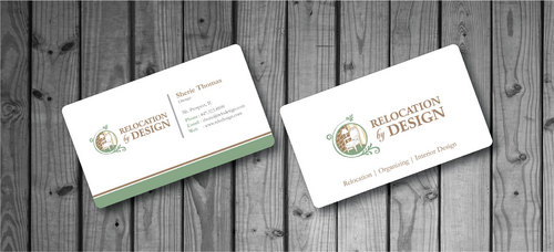 Business card for senior move management company Business Cards and Stationery  Draft # 79 by Hazik