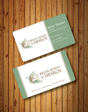 Business card for senior move management company Business Cards and Stationery  Draft # 82 by Hazik