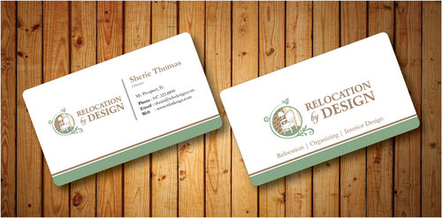 Business card for senior move management company Business Cards and Stationery  Draft # 85 by Hazik