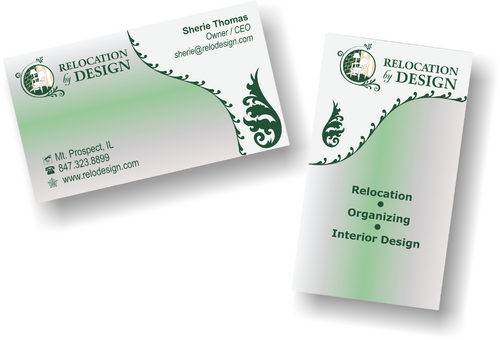 Business card for senior move management company Business Cards and Stationery  Draft # 88 by riyaz