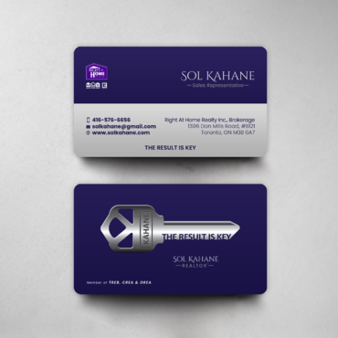 Design by einsanimation For Business card