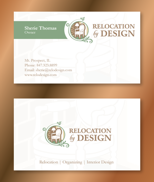 Business card for senior move management company Business Cards and Stationery  Draft # 101 by XtremeCreative2