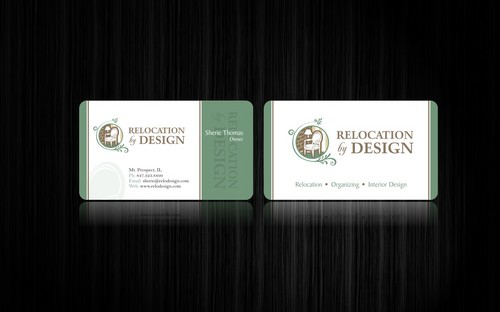 Business card for senior move management company Business Cards and Stationery  Draft # 104 by smartinfo