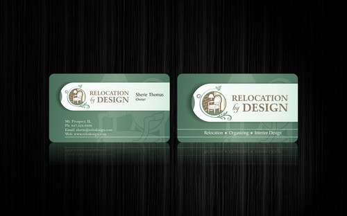 Business card for senior move management company Business Cards and Stationery  Draft # 106 by smartinfo