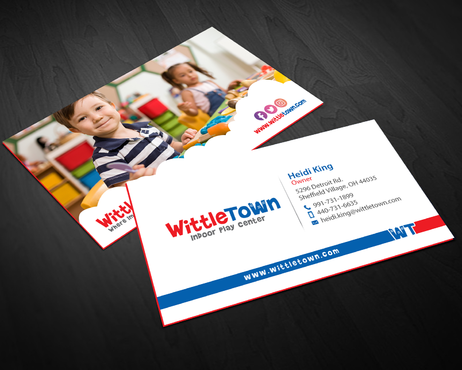 Design by einsanimation For Biz Card & Stationary for Kids Indoor Play Space Company