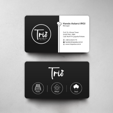 Design by einsanimation For business card and staionary design for Trio Store