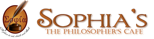 Sophia's The Philosophers Cafe   Σοφία or σοφία