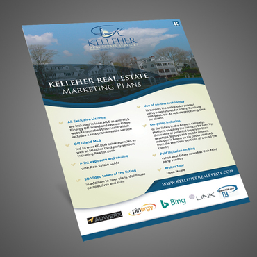 Design by Kaiza For Marketing Flyer