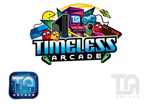 Design by mnorth For Business Logo,  Timeless Arcade
